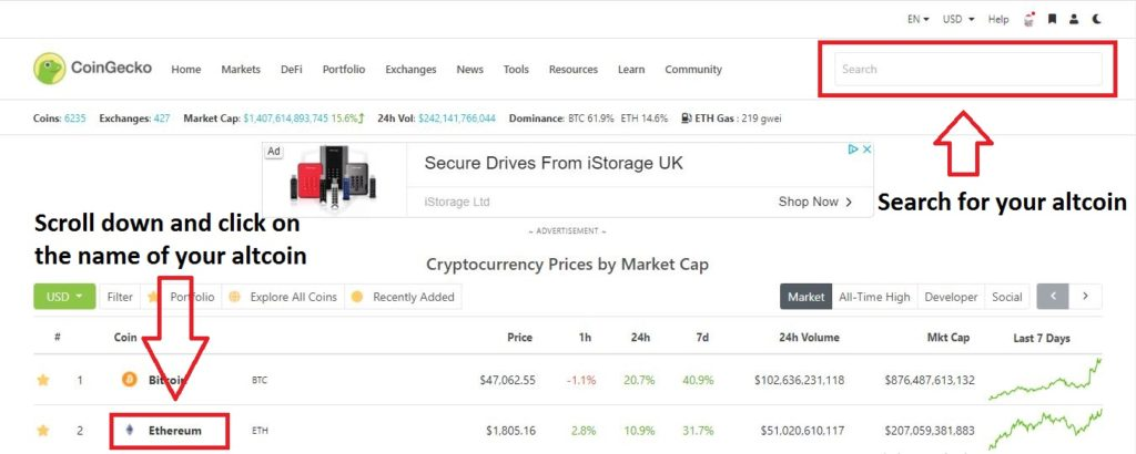 Cryptocurrency investing returns